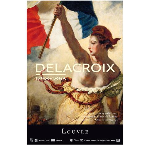 DELACROIX (1798-1863) s'expose au musée du Louvre