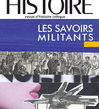 Les Cahiers d'histoire à la fête de l'humanité