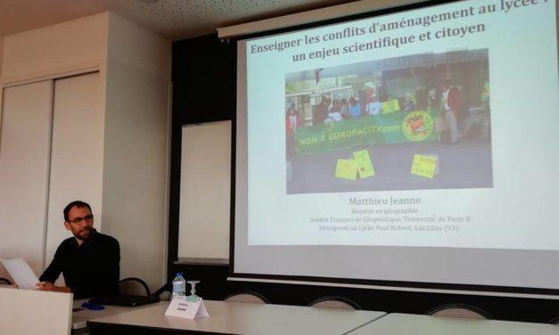 Enseigner les conflits d'aménagement au lycée, un enjeu scientifique et citoyen