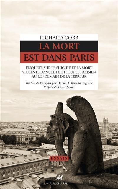Sous la Révolution, le peuple. Réédition de l'oeuvre de Richard Cobb par les éditions Anacharsis.