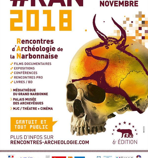 Rencontres d'Archéologie de la Narbonnaise 2018