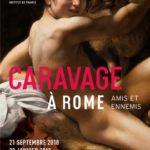 LE CARAVAGE à Rome : amis et ennemis.