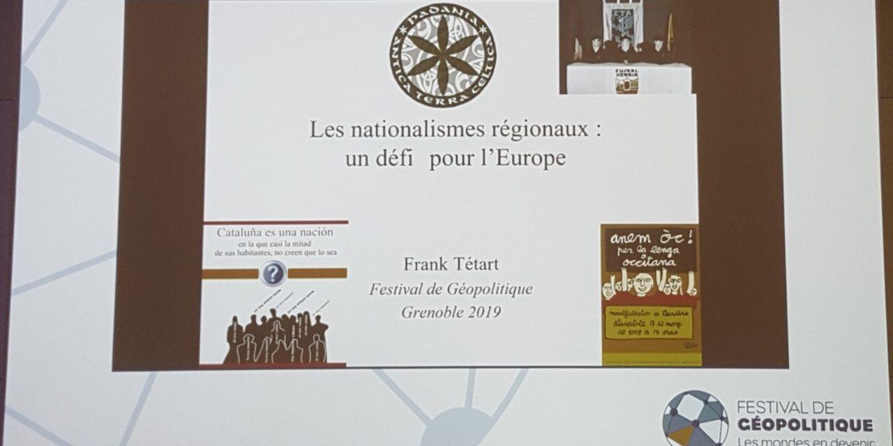 Les nationalismes régionaux, un défi pour l'Europe