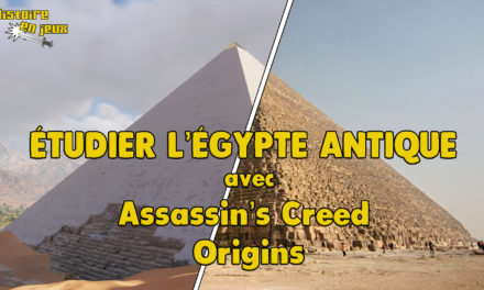 Image illustrant l'article étudier l'Égypte antique avec Assassin's Creed Origins de Les Clionautes