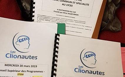 Image illustrant l'article Programmes de Les Clionautes