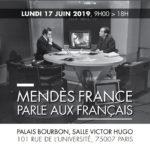 Mendes-France parle aux français
