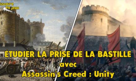 Image illustrant l'article etudier bastille Unity de Les Clionautes