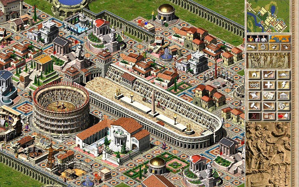 Du salon à la salle de classe, étudier l'empire romain avec les jeux vidéos?