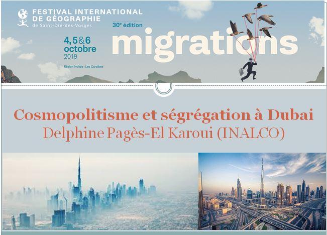 Cosmopolitisme et ségrégation à Dubaï