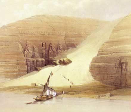 Egypte, les temples sauvés du Nil, un documentaire archéologique d'Olivier Lemaitre, présenté aux Rencontres archéologiques de Narbonne, novembre 2019.