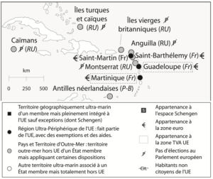 Image illustrant l'article carte antilles de Les Clionautes