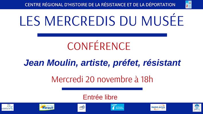 « Jean Moulin, artiste, préfet, résistant »