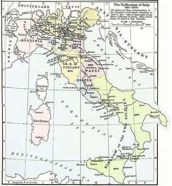Les révolutions italiennes et le contre-monde libéral (années 1820 – années 1840)