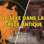 Le sexe dans la Grèce antique VS Assassin's Creed Odyssey (1/2)