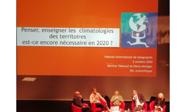Table ronde inaugurale du FIG 2020 – Climat(s)