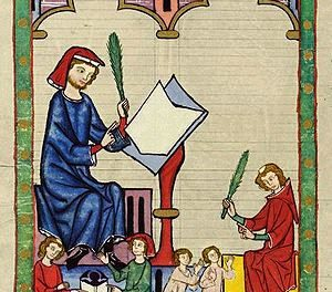 Image illustrant l'article Codex manesse éducation antique de Les Clionautes