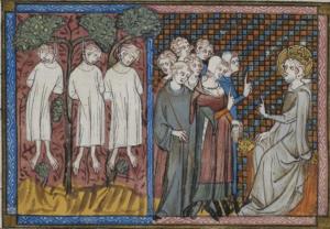 Pendaison au Moyen Age. La justice de Saint Louis