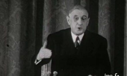 Image illustrant l'article De Gaulle gouverner c'est communiquer de Les Clionautes