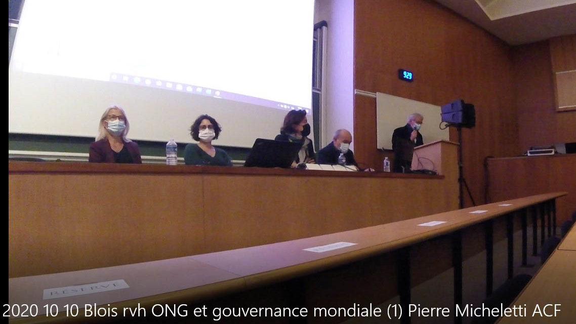 Les ONG dans la gouvernance mondiale : du local à l'international