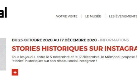 mémorial de Caen Des stories sur Instagram