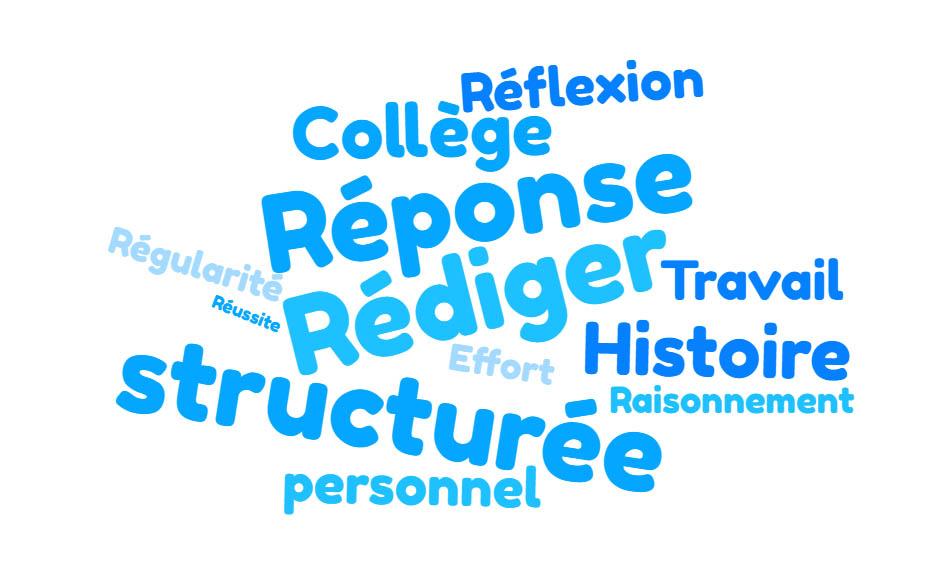 Méthode: Rédiger une réponse structurée en Histoire – Géographie