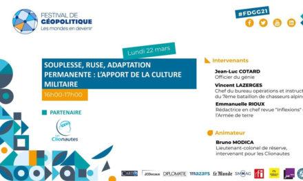 Conférence Souplesse, ruse, adaptation permanente : l'apport de la culture militaire