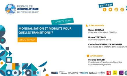 conférence Mondialisation et mobilité pour quelles transitions ?
