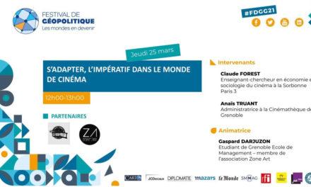 Conférence S'adapter, l'impératif dans le monde du cinéma