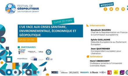 Conférence L'Union européenne face aux crises sanitaire, environnementale économique et géopolitique