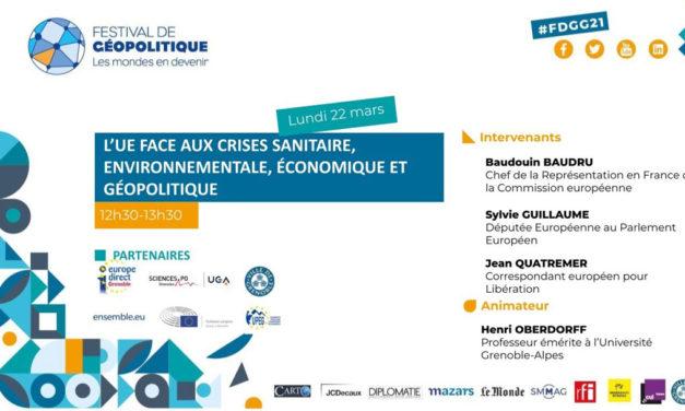 L'Union européenne face aux crises sanitaire, environnementale économique et géopolitique
