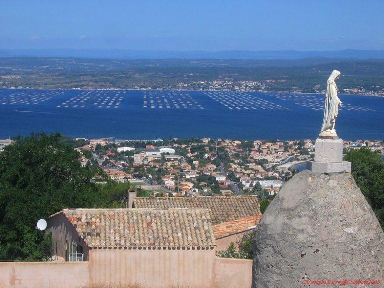 Vue depuis le Mont-Saint-Clair à Sète