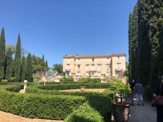 Les jardins du château de Flaugergues