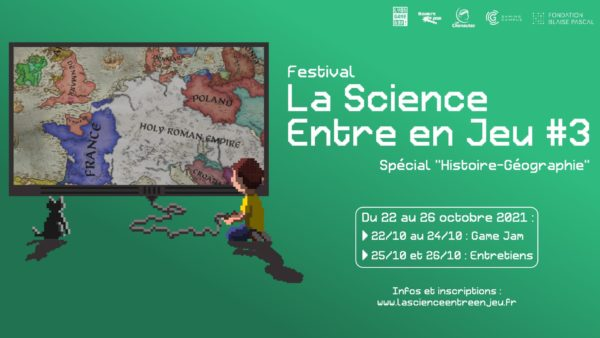 Bannière festival la science entre en jeu