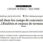 Le travail dans les camps de concentration nazis (KL) : réalités et enjeux de terminologie
