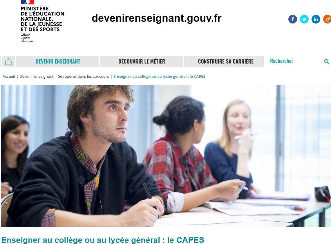 Le CAPES d'histoire-géographie dans la réforme des concours : programmes, épreuves et attentes.