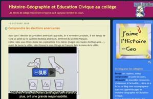Le blog histoire - géo des Clionautes
