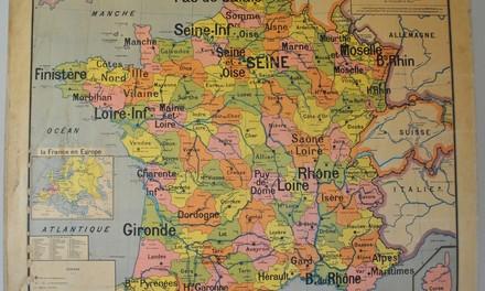 La France : une géographie originale 1/8
